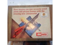 JOINTMASTER the perfect tool for a perfect joint on a picture frame or any other joint, boxed,Vgc.