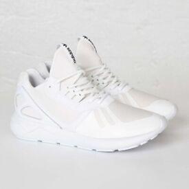 5b2999c444e54 Brand New Mens Adidas Originals Tubular Runners Full White Size 12UK  RRP.£89.99