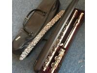 Yamaha YFL-211 Flute silver plated