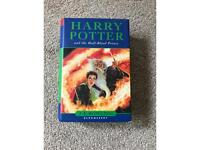 Harry Potter and the Half Blood Prince hardback