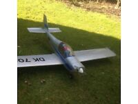 Ready to fly radio controlled aircraft £150