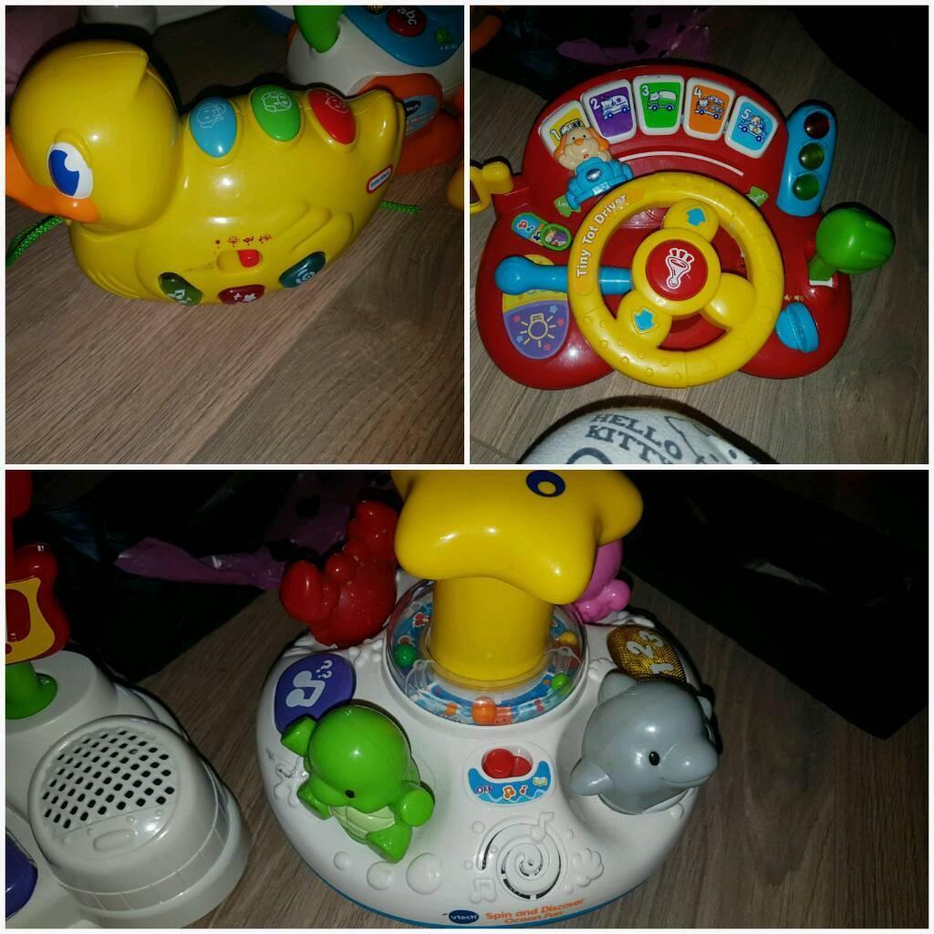 3 baby toys workin