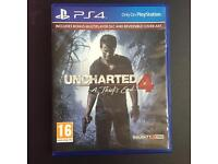 PS4 - Uncharted 4 - A Theifs End (New condition)
