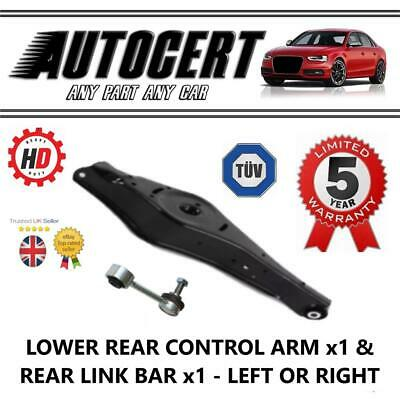 VW SCIROCCO 08-15 REAR LOWER SUSPENSION CONTROL ARM / WISHBONE & LINK LH OR RH