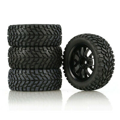 RC Front Rear Tires Wheels for Wltoys 144001 124019 Car Parts Accessories