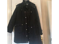 Next knee length quited coat