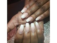 Home based qualified and insured nail technician