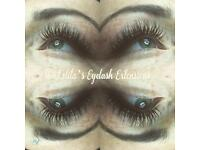 Russian Volume/Classic eyelash extensions