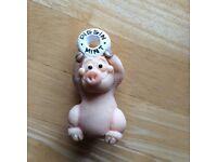 Piggin mint pig ornament