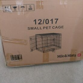 Milo and Misty small dog/puppy crate