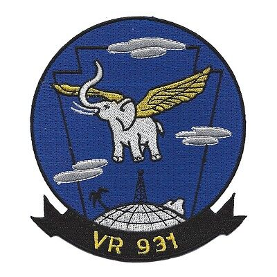 USN VR-931 Air Reserve Squadron Navy Military Patch