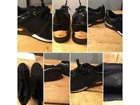 Two pairs size 5 women's trainers used