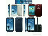 Brand New Orignal Samsung Galaxy S3 Uk Stock GT-I9300-16GB-Black,Blue,White(Unlocked)With Warranty