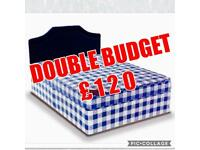 *BRAND NEW FACTORY WRAPPED*Free Local Delivery/Oriel Double Bed Base & Mattress**/
