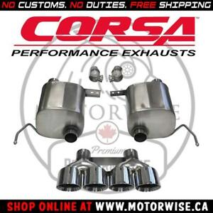 Corsa Xtreme Exhaust System | 2014 to 2019 Corvette Stingray, Z06, Grandsport | Shop & Order Online at www.motorwise.ca