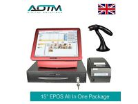 """Complete 15"""" Touch Screen EPOS POS System, Cash Till, EPOS Software, Printer Retail (EPS101-B15PKT1)"""