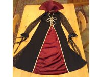 Halloween dress size 14 complete with detachable collar only £4