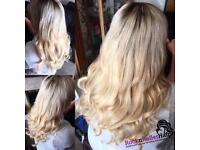 Mobile hair extensions Nottingham - LA weave & braided weave - get in touch for prices x