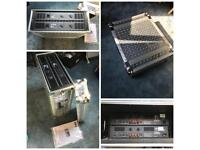 Pair of Warrior D80O power amplifiers - disco/band