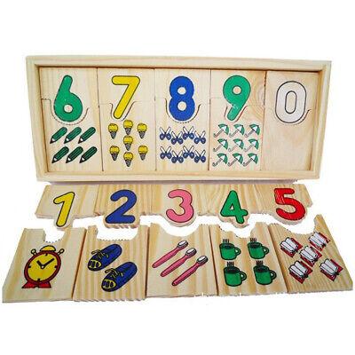 Kinder Spiel Es Mathematic Pädagogisches Puzzle Set Jigsaw Spielzeug Kinder