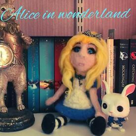 Alice In wonderland doll, collectible
