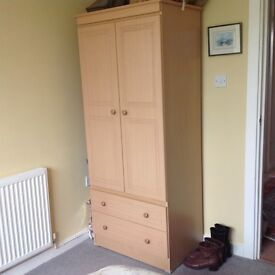 Matching wardrobe, chest of drawers, 2 bedside chests and separate wardrobe