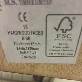 Structural plywood 8x4sheets full pack 18 mm