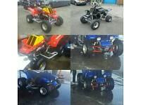 Banshee 350 x 3 road and off road raptor ltr yfz quad