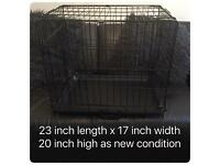 As new dog cage