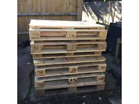 CLEAN EURO PALLETS INDOORS OUTDOORS GARDEN FURNITURE DIY PROJECT