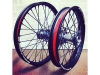 Crf250 Crf450 sm pro wheels 13 onwards Crf 250 450 wheels rims