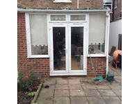 upvc french windows and frame
