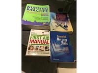 Four books (Nursing)