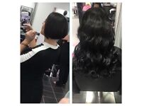 Hair extension specialist 4 methods available.. only the best Remi hair used includes cut and style