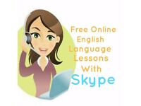 Free English Language Lessons With Skype