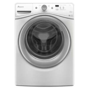 HIGH-EFFICIENCY WASH SYSTEM WASHER ON SALE| Amana NFW5800DW Front Load Washer (BD-1016)
