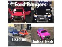 Ford Rangers 12v, Ride-On, Parental Remote & Self Drive,