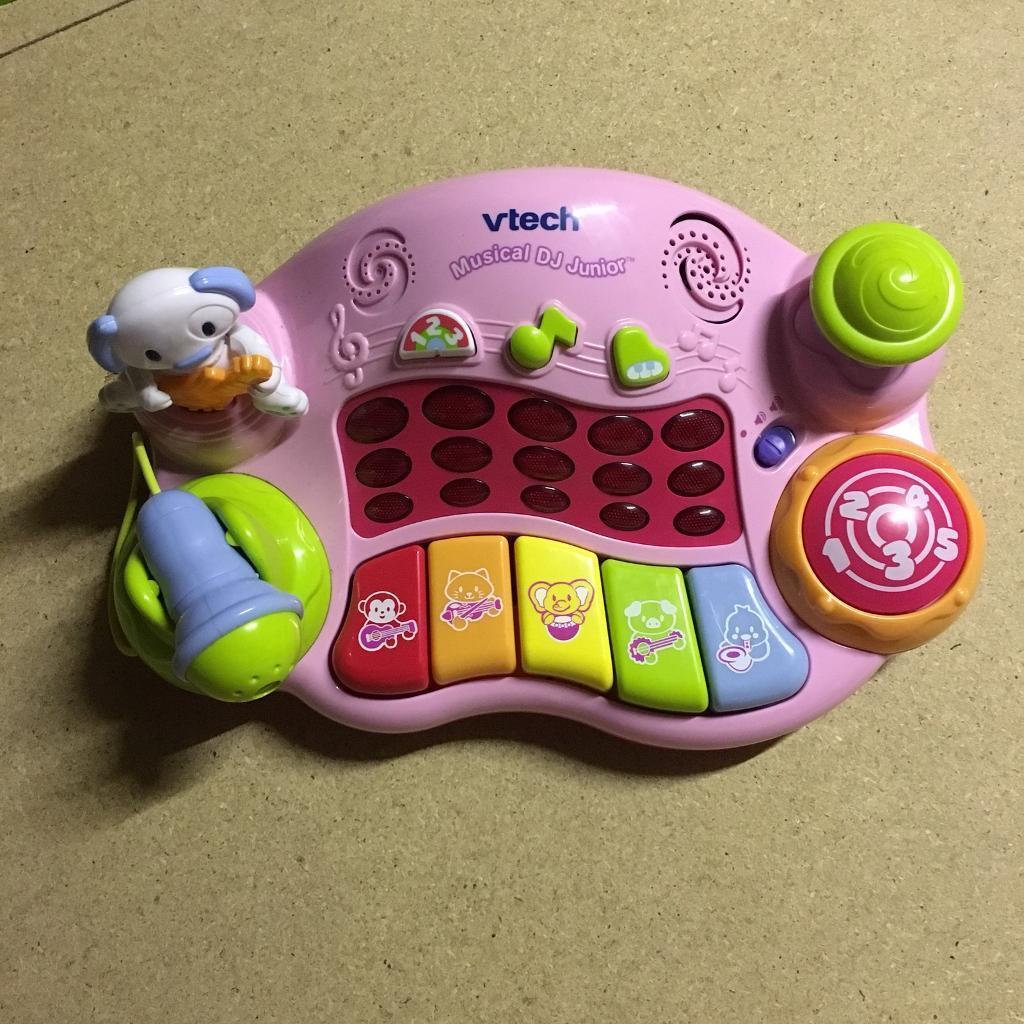VTech Musical Junior DJ - Pink