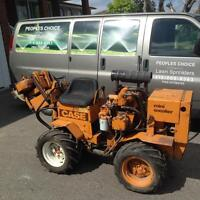 Ditch witch in great condition (case mini sneaker)