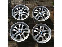 BMW set of 4 x 16 inch alloy wheels, Z4