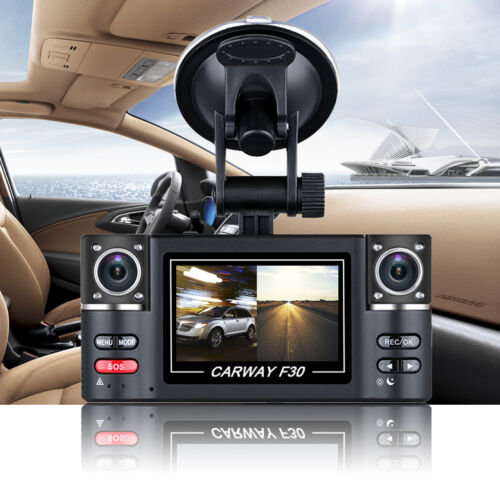 "Excelvan 2.7"" Dual Lens Car Vehicle 1080p Hd Dash Camera ..."