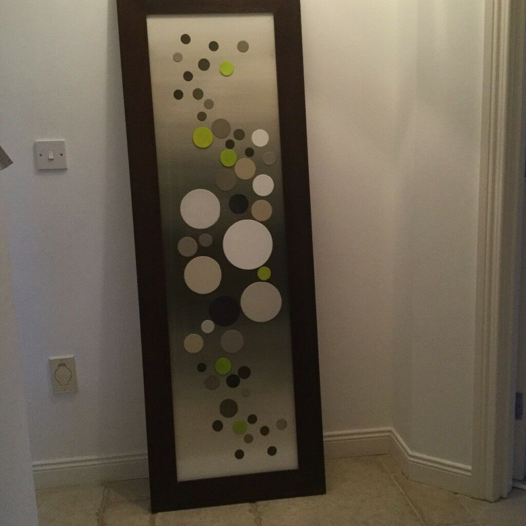 Large wooden frame picture