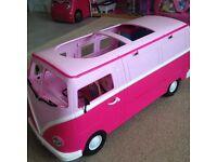 Barbie Camper vans and jeep toys (Various)