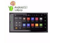 "Toyota 6.95""Android 5.1 Lollipop System Quad Core Car DVD Player Screen Mirroring Function OBD2"