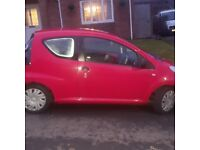 Citroen C1 57 plate red in colour only 1 previous owner excellent runner.