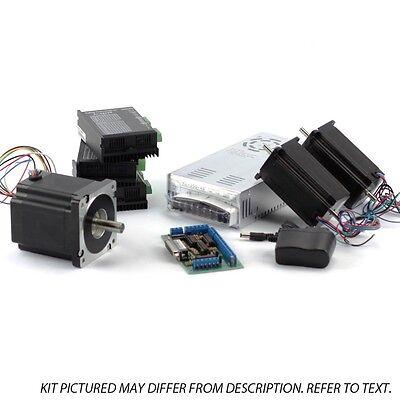 3-axis Nema23 34 Sieg Kit 1x 906 Ozin 2570 Ozin 3 Digital Drivers
