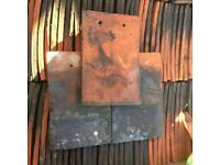 Reclaimed clay Kent peg tiles roof tiles