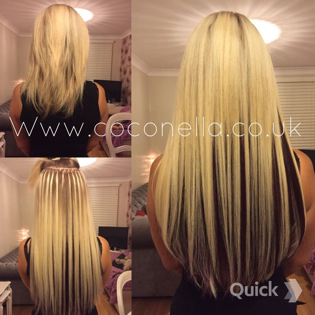 Russian Brazilian Indian Virgin Remy Micro Nano Rings Hot Fusion