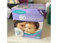 Lansinoh Disposable Nursing Pads 60 pack (Individually Wrapped)