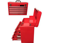 """New Metal 22"""" 4 Drawer Tool BOX Chest Ideal for Mechanic Engineer Plumber ETC"""
